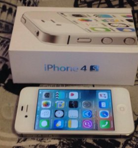iPhone 4s white в идеале. Оригинал