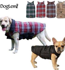 Новый утеплённый жилет для собаки
