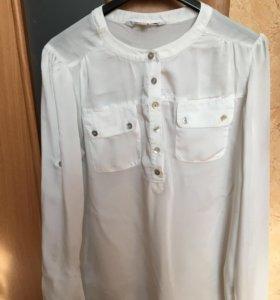 Блузка шелковая 44 размер