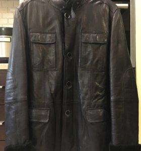 Мужская куртка-дублёнка