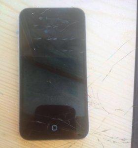 Айфон 4с Черный( интересен обмен)