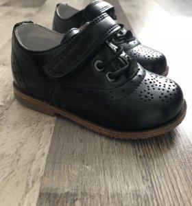 Детские кожаные туфли ( новые )