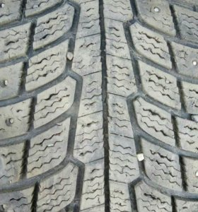 Michelin x-ice north, зима