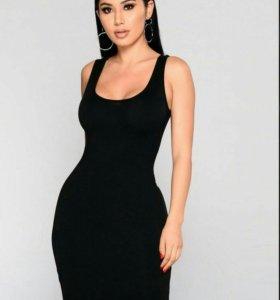 Платье черное 42-44