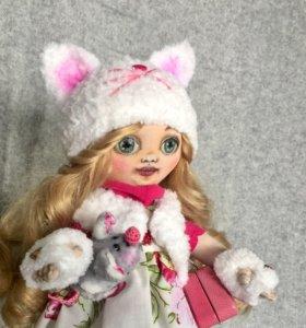 Девочка-Кошечка 🐱со своей Мышкой 🐭