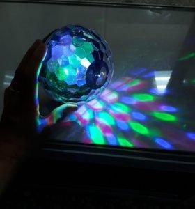 Колонка-диско шар Bluetooch