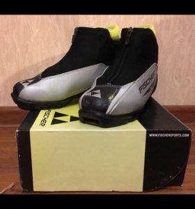 Лыжные ботинки 37р