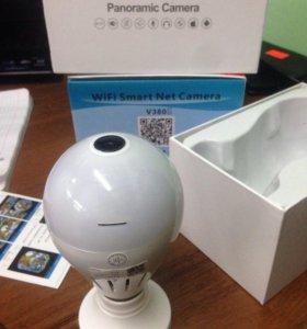 Wi-fi камера лампочка