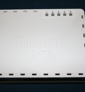 Маршрутизатор MikroTik RouterBoard RB750UP