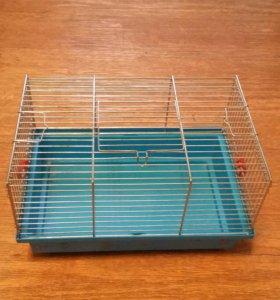 Клетка для грызунов  + шар прогулочный