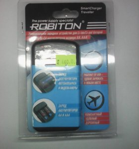 Зарядное SMART CHARGER TRAVELLER ROBITON