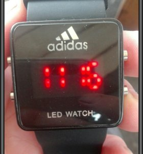 Часы adidas led watch
