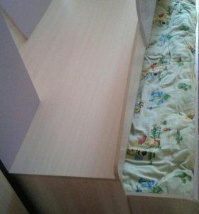Детская кровать два уровня