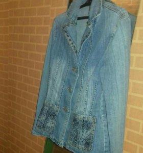 Пиджак корея джинсовый