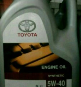Масла ENGINE OIL TOYOTA