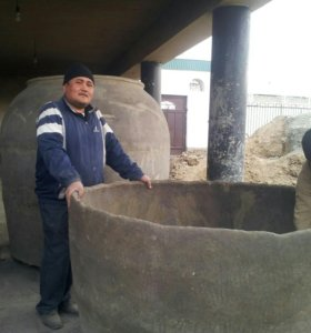 Тандыр из глины узбекистан