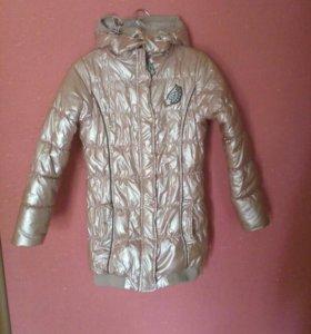 """Куртка утеплённая от фирмы """"Маленькая фея""""."""