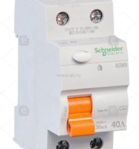 УЗО Schneider Electric Домовой ВД63