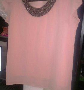 Блузы пакетом 46-50 размер.