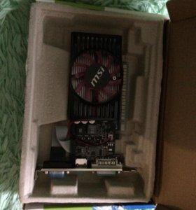 Продам новую видеокарту GT 630 1GB DDR3