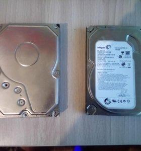 Два HDD на запчасти