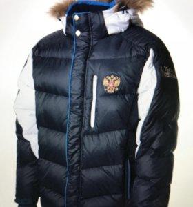 Пуховик и утеплённый костюм экипировка Сборной р