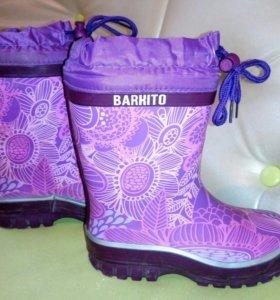 Резиновые сапожки ф.BARKITO р-р 32