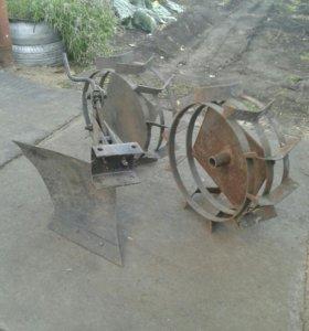 Плуг на мотокультиватор