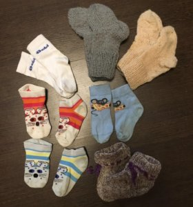 Детские носочки пакетом