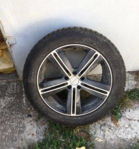 Диски и резина на Opel astra j gtc