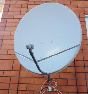 Спутниковая антенна 90см с конвертером