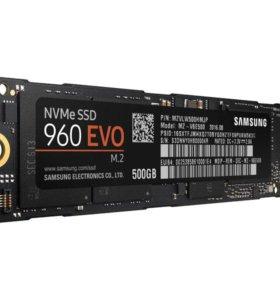 Быстрый SSD - Samsung 960 EVO 500GB M.2