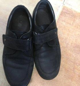 Туфли капика нат кожа
