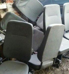 В пассажирскую Газель сидения