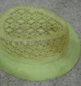 Жёлтая шляпка.