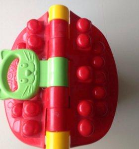 """Логический домик""""Маленький строитель""""15 блоков"""