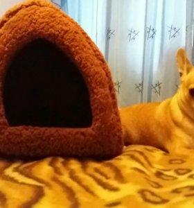 Тёплый домик для кошки или собаки.Новый!