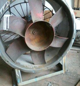 Вентилятор осевой~800 мм 3 кВт