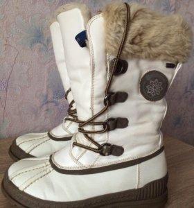 Сапоги для девочки. Зима