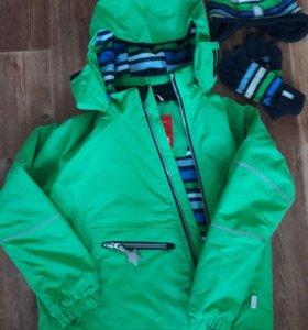 Куртка шапка и перчатки Reima