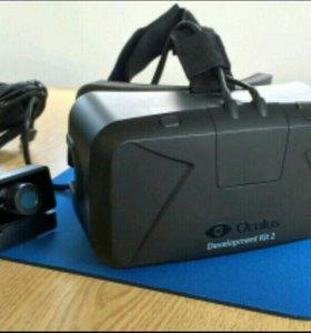Oculus rift dk2. Шлем виртуальной реальности.
