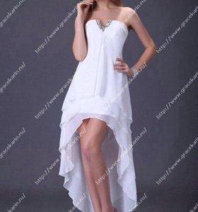 Вечернее-свадебное платье. Новое!