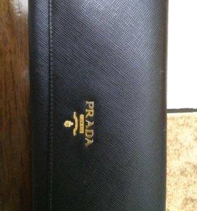 PRADA новый кошелёк
