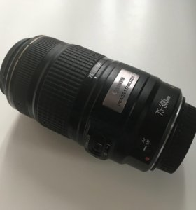 Canon ultrasonic Zoom Lens EF 75-300mm 1:4-5.6 IS