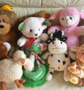 Мягкие игрушки/ размер средний