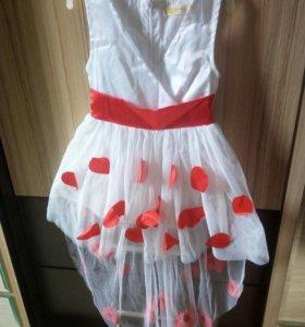 Платье на девочку,размер 80