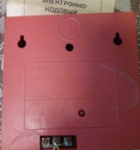 Звонок электронно-кодовый 1983г