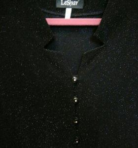 Новая блуза-туника с люрексом