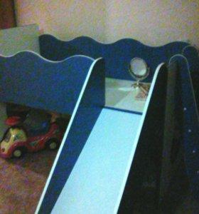 Детская кровать (морячок)