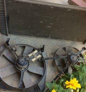 Радиатор с вентиляторами